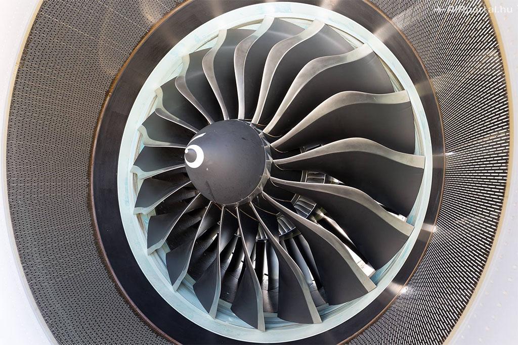 CFM LEAP-1A hajtómű az A321neo prototípusán. (Fotó: AIRportal.hu) | © AIRportal.hu