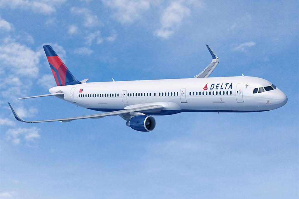 Grafika: Delta A321-200 (Forrás: Airbus)   © AIRportal.hu
