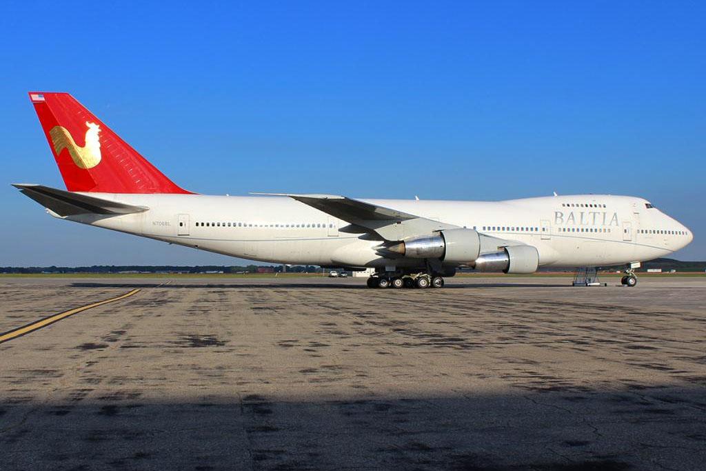 A Baltia Air Lines korábban New York JFK repülőtérről egy Boeing 747-200-assal kívánt transzatlanti járatokat indítani, azonban az üzemeléshez szükséges engedélyeket soha nem kapták meg az amerikai hatóságoktól (Fotó: Baltia Air Lines) | © AIRportal.hu