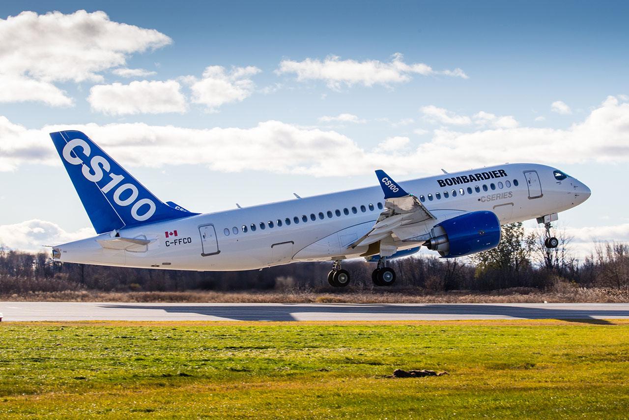 Nem csak a hajtóműgyár lassúsága, hanem az Airbus A320neo-ról jelentett problémák is sújtják a Bombardier CSeries-típuscsaládját (Fotó: Bombardier) | © AIRportal.hu
