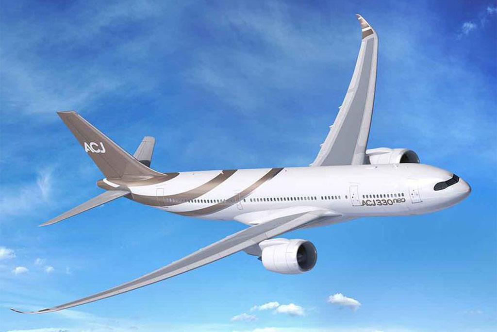 Az ACJ330neo látványterve. (Forrás: Airbus) | © AIRportal.hu