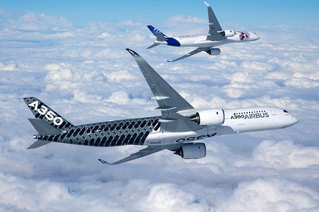 Nemsokára az orosz állami légitársaság arculatában is látható lesz az európai kompozit szélestörzsű (Fotó: Airbus) | © AIRportal.hu