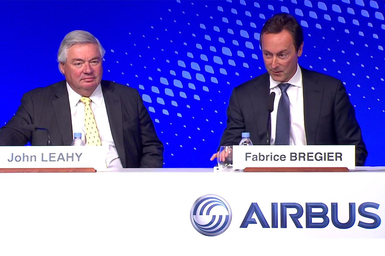 John Leahy és Frabrice Brégier (Fotó: Airbus) | © AIRportal.hu