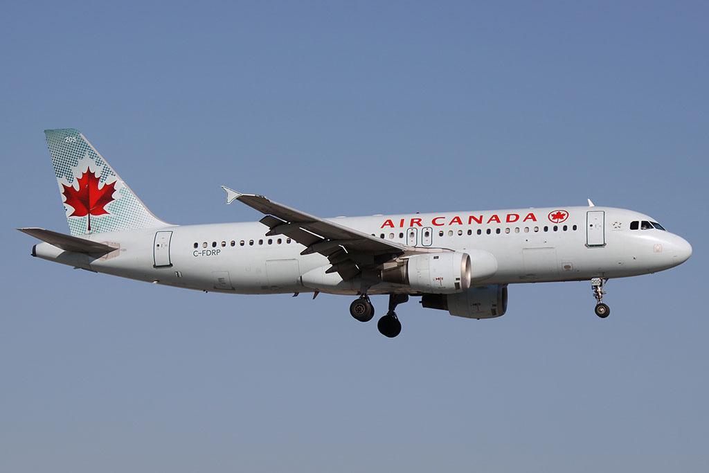 A légitársaság egyik Airbus A320-as repülőgépe. (Fotó: AIRportal.hu) | © AIRportal.hu