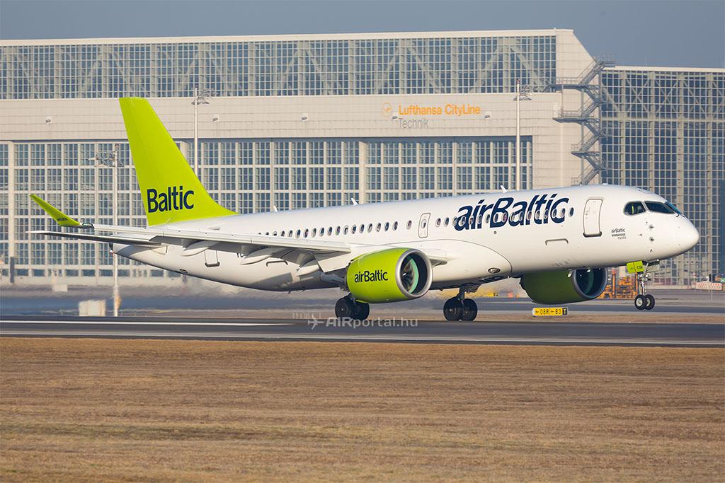A lett Air Baltic számára a viszonylag nagy hatótáv új járatokat is lehetővé tesz (Fotó: AIRportal.hu) | © AIRportal.hu