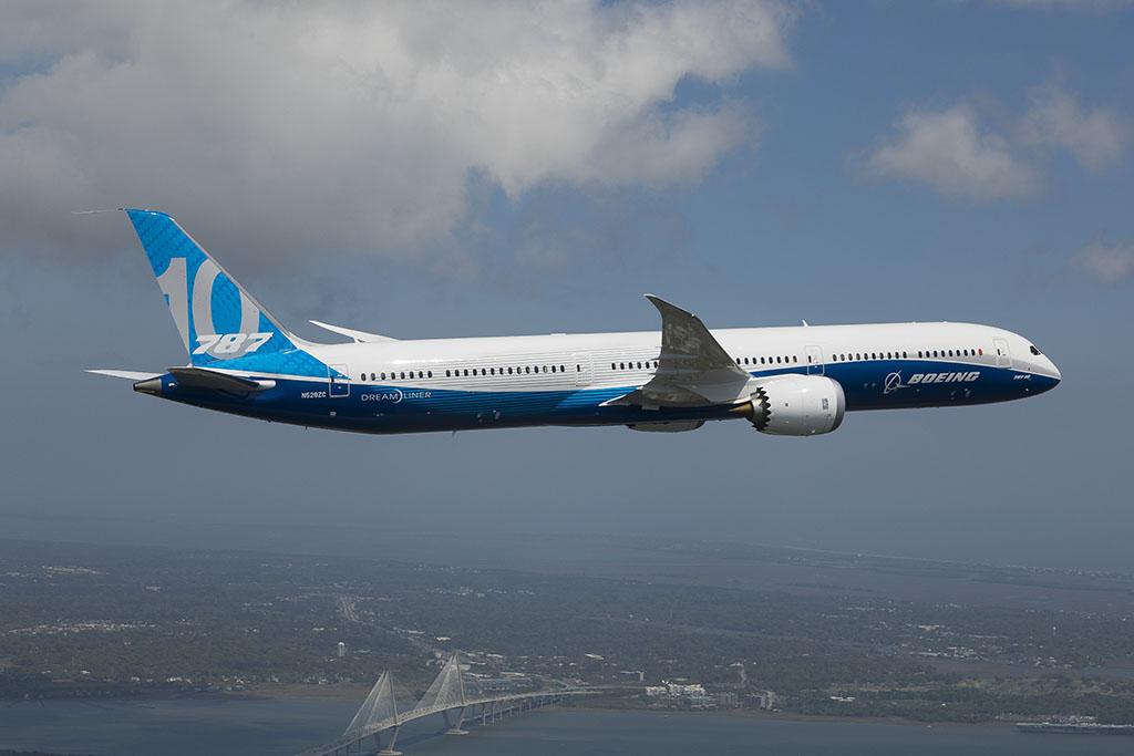 A legnagyobb Dreamliner nemrég teljesítette szűzfelszállását (Fotó: Boeing) | © AIRportal.hu