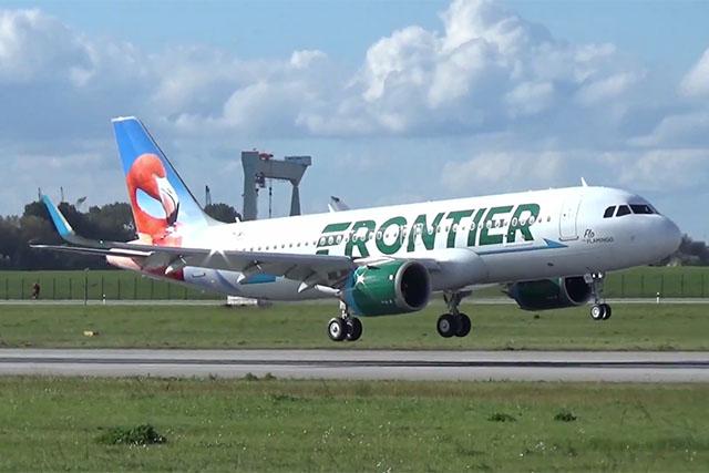 A Frontier első Airbus A320neója | © AIRportal.hu