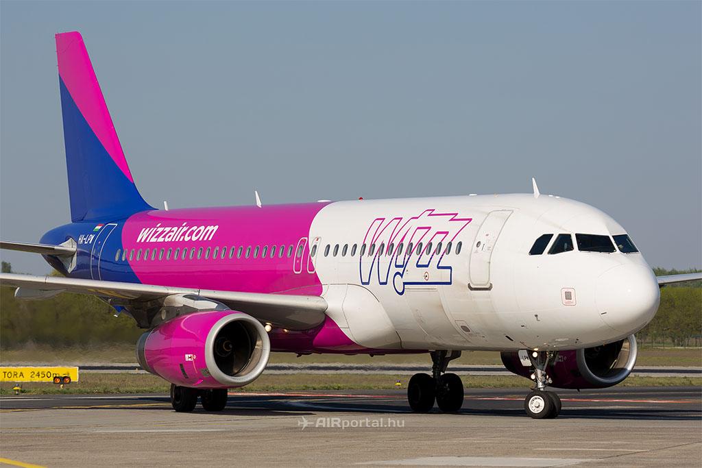 Illusztráció. A Wizz Air egyik A320-as repülőgépe. (Fotó: AIRportal.hu) | © AIRportal.hu