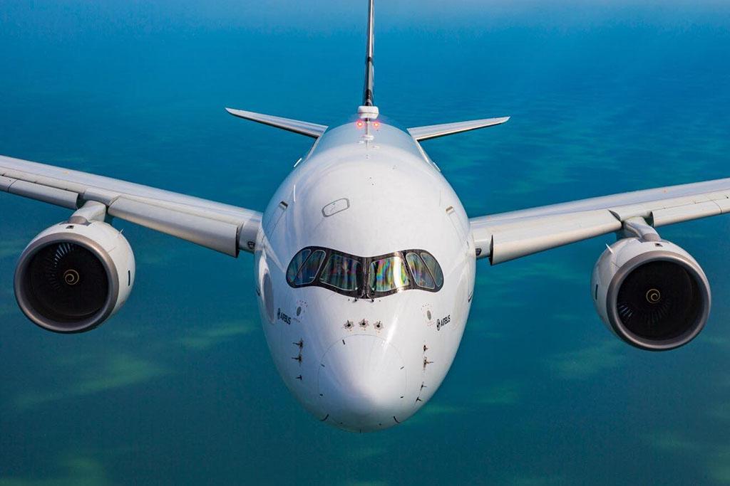 Ha állandóan bekapcsolva tartják, az új generációs A350 is hajlamos meghibásodni (Fotó: Airbus) | © AIRportal.hu