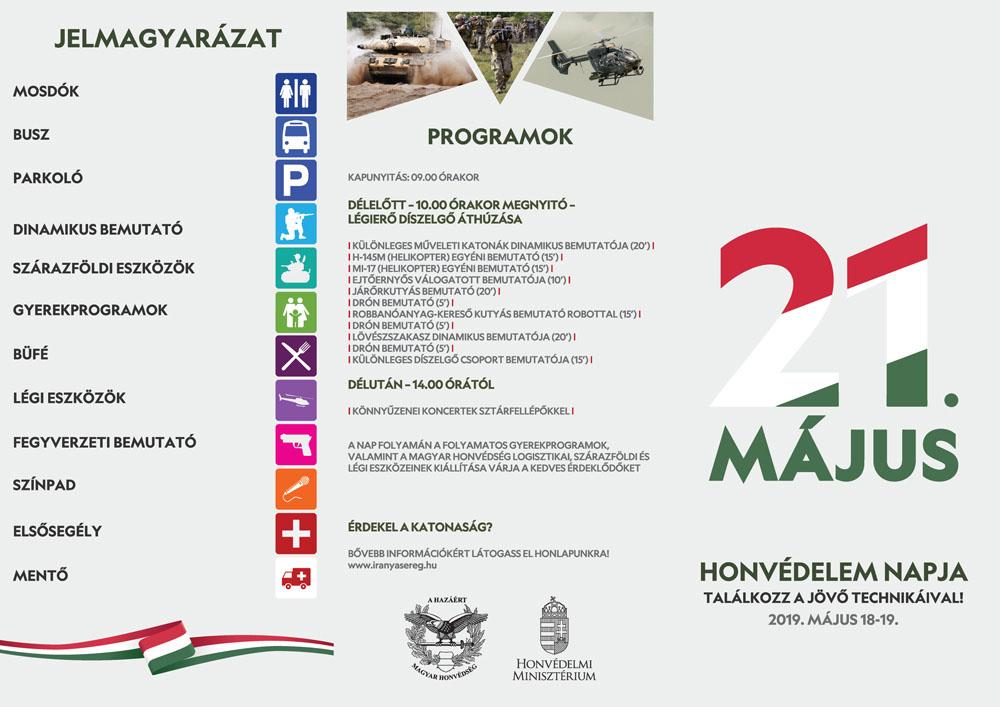 285183d5f8 Itt a 2019. május 18-19-i budaörsi haditechnikai és légi bemutató ...